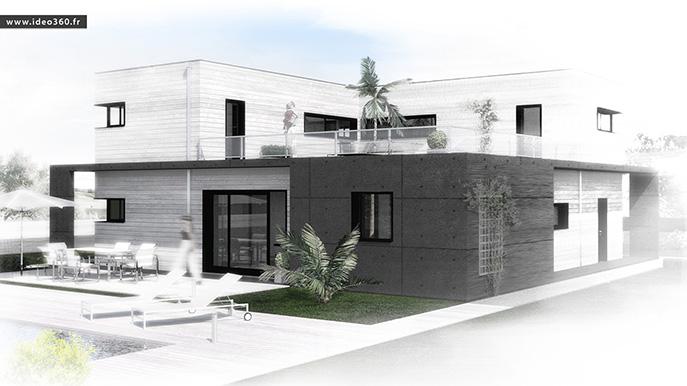 IDEO360 : Maison contemporaine