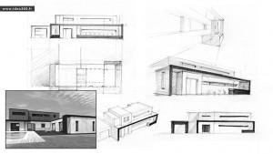 IDEO360 : Maison contemporaine Rennes